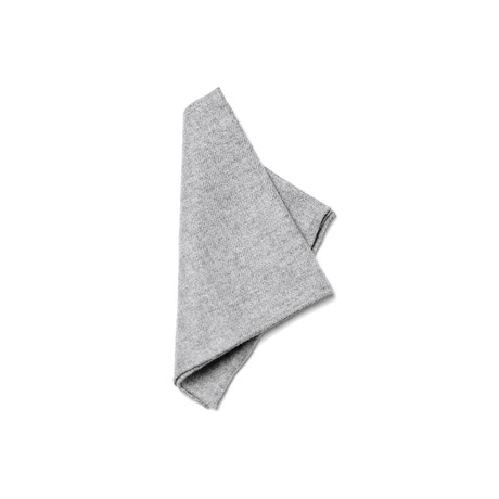 Pascal Pocket Square // Light Grey
