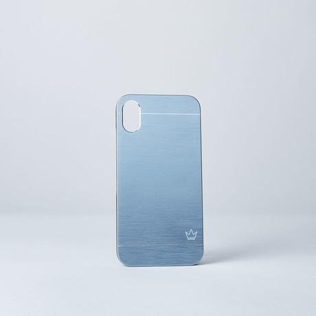 Slim Aluminum Case // Blue