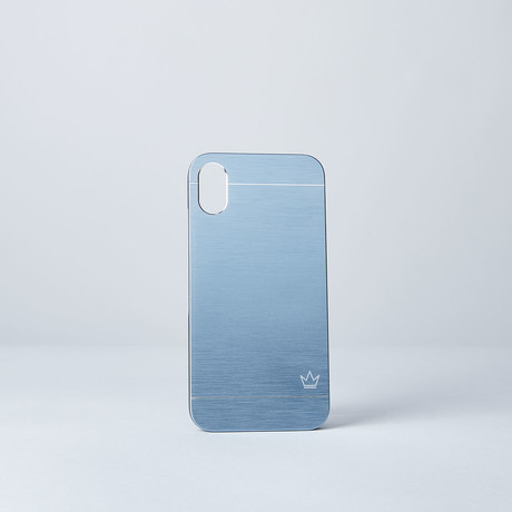 Slim Aluminum Case // Blue (iPhone 7/8)