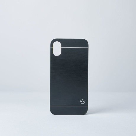 Slim Aluminum Case // Black (iPhone 7/8)