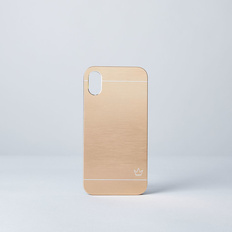 Slim Aluminum Case // Gold (iPhone 7/8)
