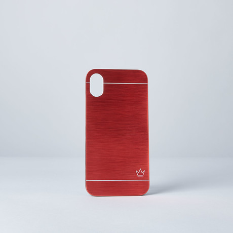 Slim Aluminum Case // Red (iPhone 7/8)
