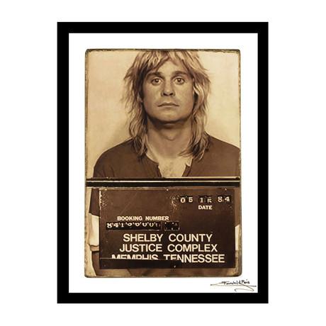 Mugshot // Ozzy Osbourne