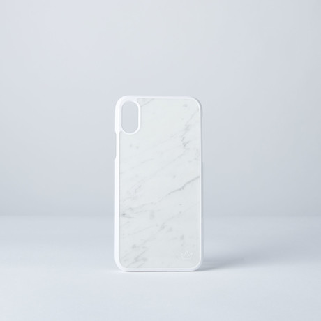 Marble Case // iPhone X (Nero Marquina Black)
