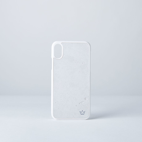 Concrete Case // White (iPhone X)