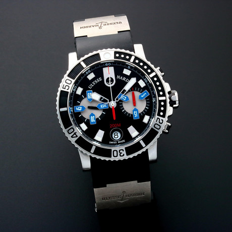 Ulysse Nardin Maxi Marine Diver Chronograph Automatic // 8003 // Pre-Owned