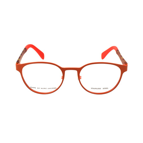 Taylor Frame // Orange + Brown