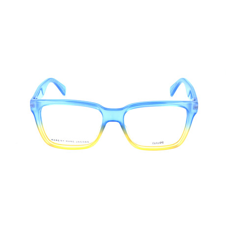 Marc by Marc Jacobs // Davis Frame // Clear Blue + Yellow