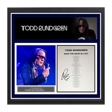 "Todd Rundgren // ""Bang The Drum All Day"""