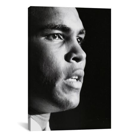 "Profile Shot Of Muhammad Ali (26""W x 18""H x 0.75""D)"