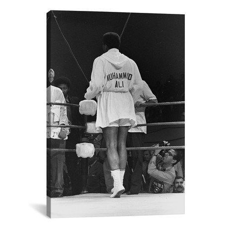 "Rear View Of A Robed Muhammad Ali (26""W x 18""H x 0.75""D)"
