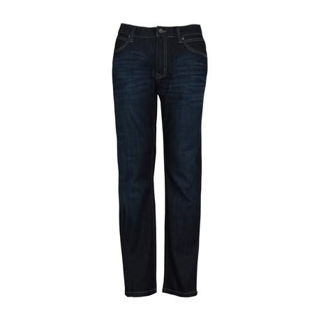 5 Pocket Stretch Jean // Deep Indigo (34WX30L)