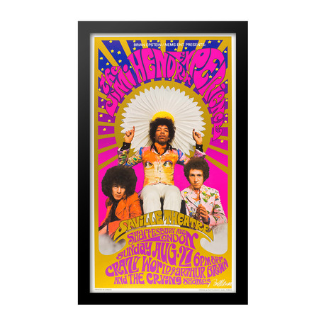 The Jimi Hendrix Experience // August 27th