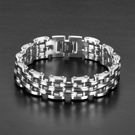 Link Bracelet // Silver