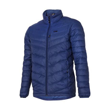 Cascade Down Jacket // Azure (S)