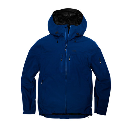 Santiam 3 Layer Jacket // Deep Blue (S)