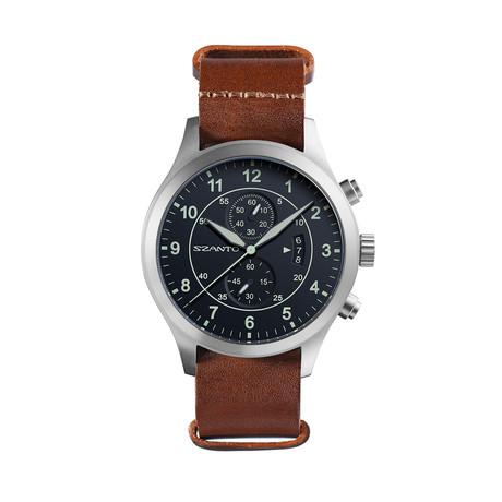 Szanto Military Pilot Nato Chronograph Quartz // SZ 1211