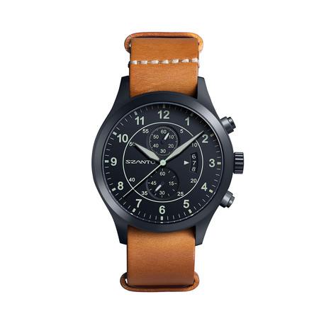 Szanto Military Pilot Nato Chronograph Quartz // SZ 1212