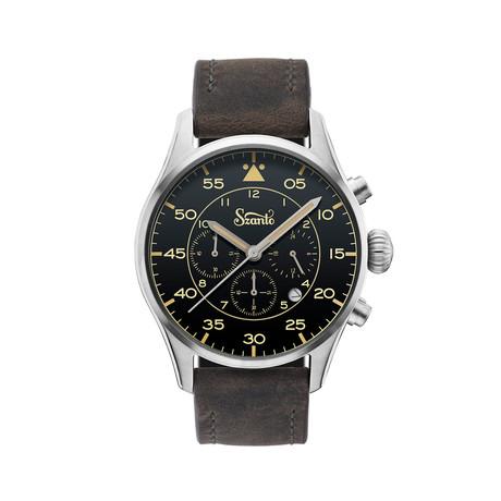 Szanto Heritage Aviator Chronograph Quartz // SZ 2711