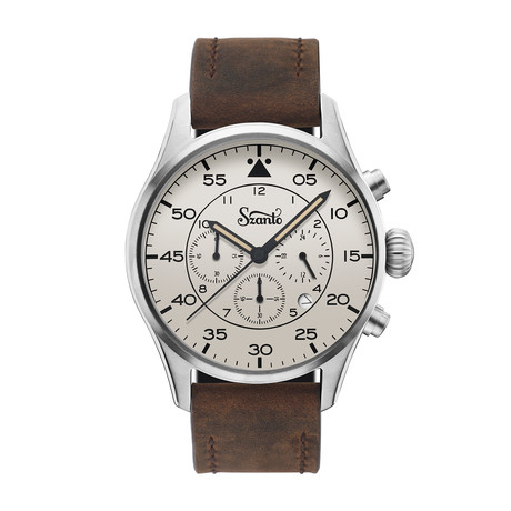 Szanto Heritage Aviator Chronograph Quartz // SZ 2712