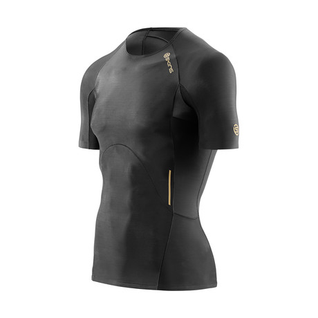 A400 Compression Short-Sleeve Shirt // Black (XS)