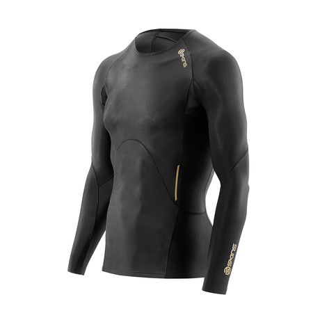 A400 Compression Long-Sleeve Shirt // Black (XS)