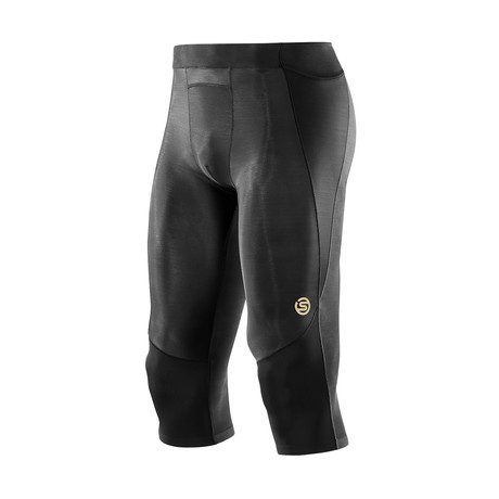 A400 Compression 3/4 Tights // Black (XS)