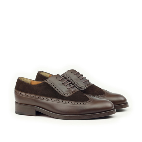 Oxford Brogue // Brown (Euro: 39)