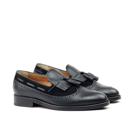 Tassel Brogue // Black (Euro: 39)