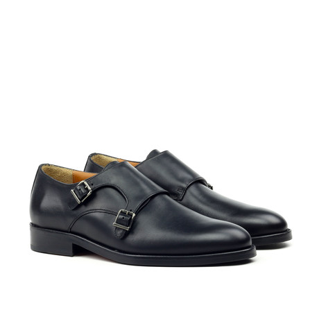 Double Monkstrap // Black (Euro: 39)