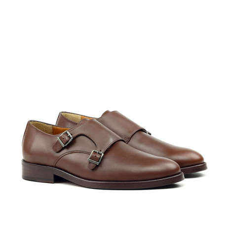 Double Monkstrap // Brown (Euro: 39)
