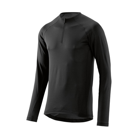 Trooper Midlayer Long Sleeve Fleece // Black (Small)