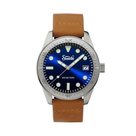 Szanto Vintage Dive Quartz // SZ 5202