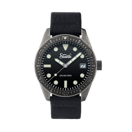 Szanto Vintage Dive Quartz // SZ 5206