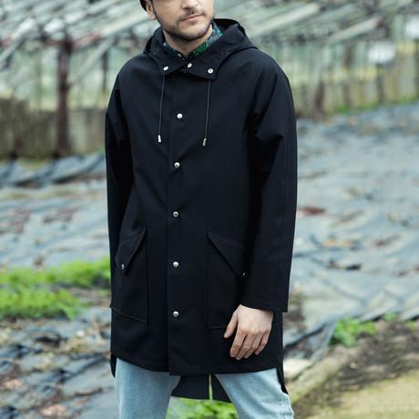 Unisex City Raincoat // Black