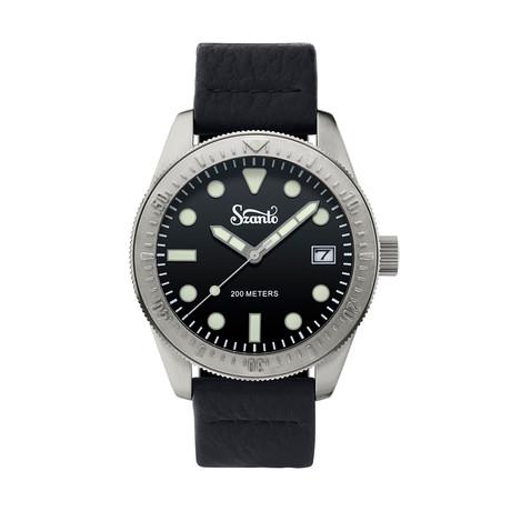 Szanto Vintage Dive Quartz // SZ 5201