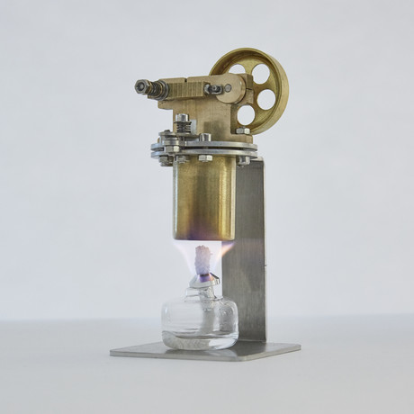 Small Brass Steam Engine
