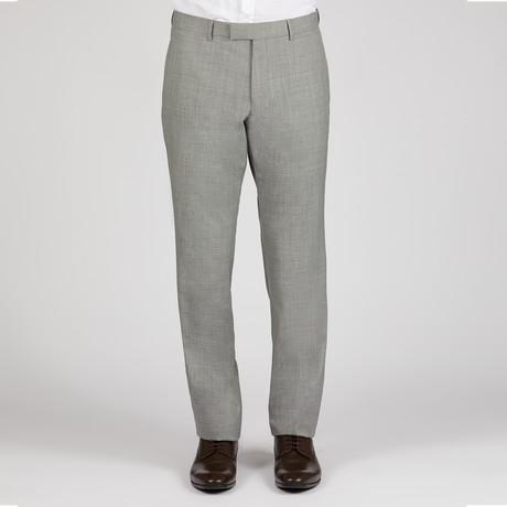 Solid Monaco Pant // Light Grey
