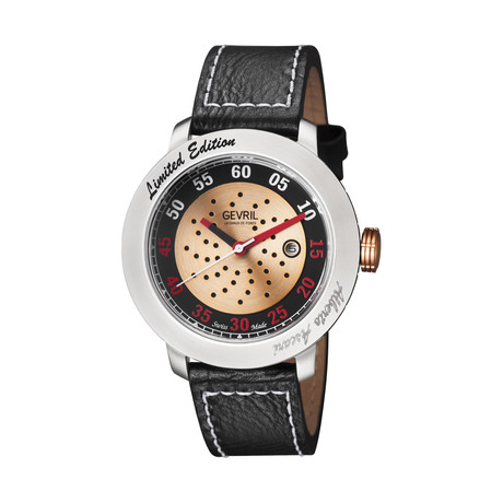 Gevril Alberto Ascari Automatic // Limited Collection // 1100