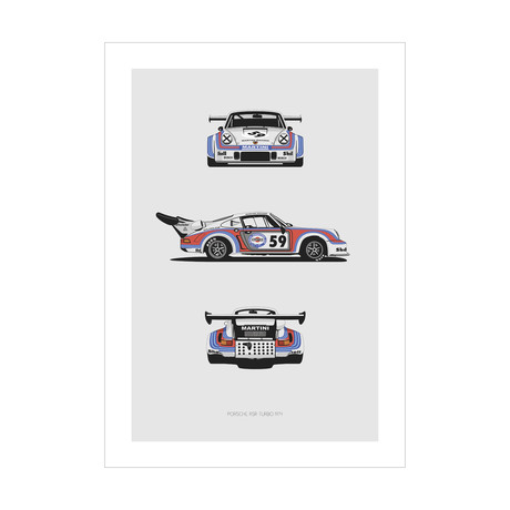 Porsche RSR Turbo Trilogy