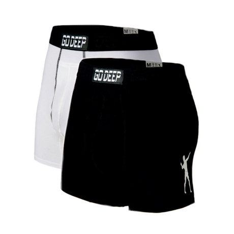 Double Pack set of Dual-Climate™ Underwear // White + Black