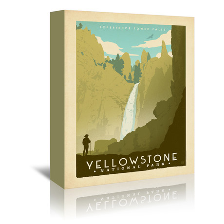 "National Park Yellow Stone (9.5""W x 7.5""H x 1""D)"