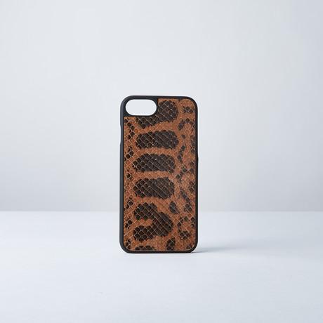 Anaconda Phone Case // Tan (iPhone 6/6s/7/8)