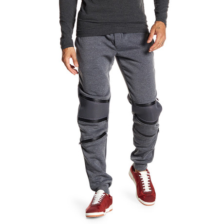 Fleece 3-Zip Pant // Dark Gray (S)