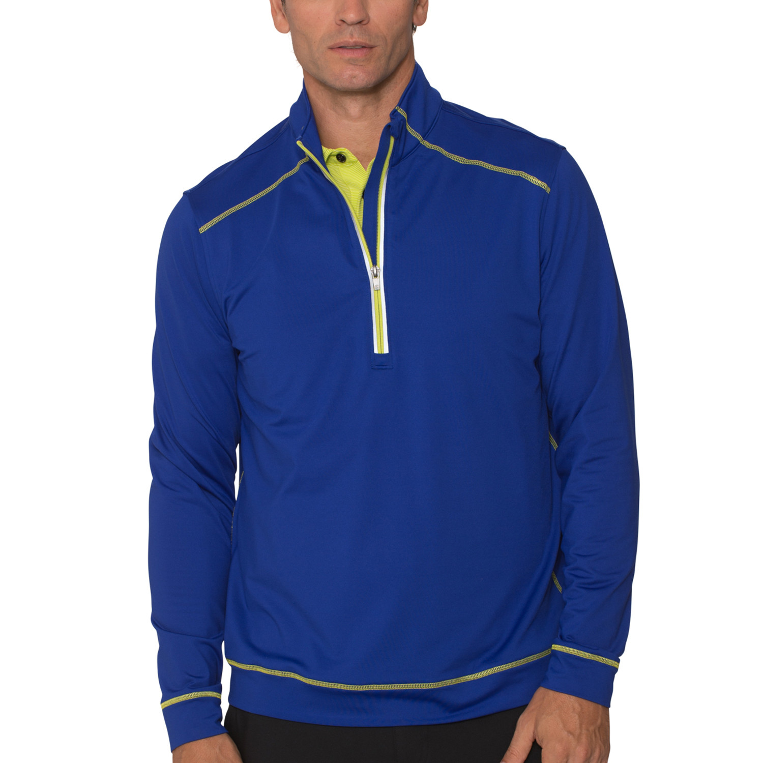 6759acceb Authority Half-Zip Jacket // Ultramarine (M) - Chase54 - Touch of Modern
