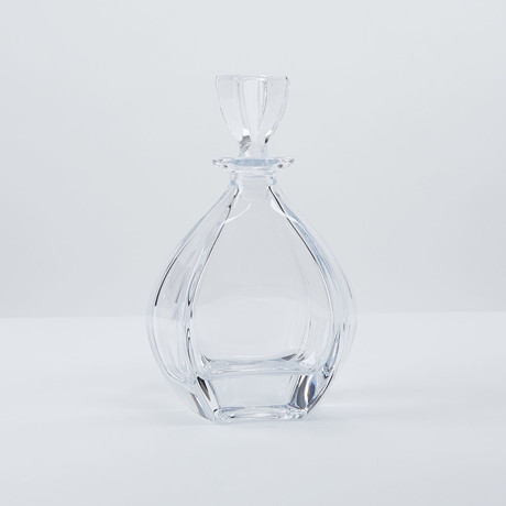 Glass Liquor Decanter Bollune