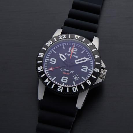 Trintec CoPilot GMT Quartz // CO-GMT-SS