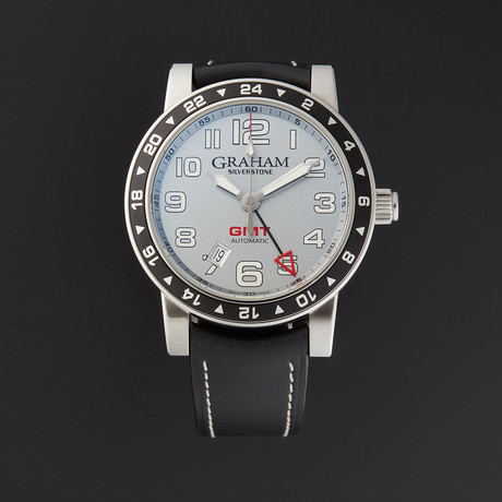 Graham Silverstone Time Zone GMT Automatic // 2TZAS // Pre-Owned