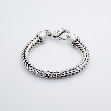 Double Foxtail Chain Bracelet