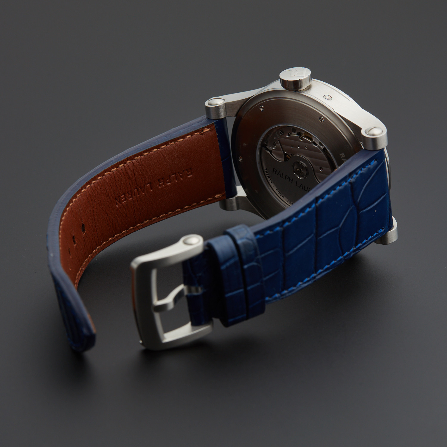 fb20ccf698b Ralph Lauren Sporting World Time Automatic    R0210700    New - The ...